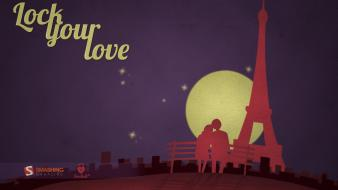Love In Paris wallpaper