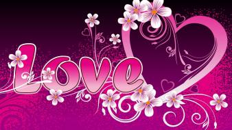 Lovely Love Design Wallpaper
