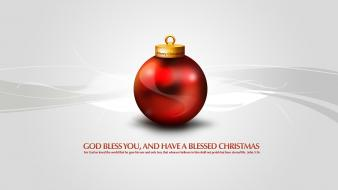 Merry Christmas God Bless You Wallpaper