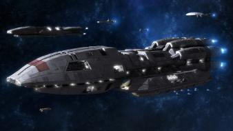 Pegasus Battlestar Galactica wallpaper