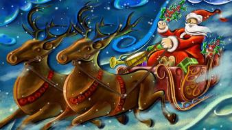Santa Clause Creative Art Work wallpaper