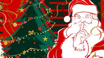 Santa Clause Xmas wallpaper