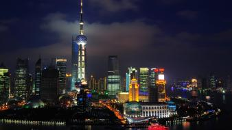Shanghai Nights China wallpaper