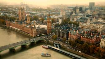 Summer london bridges cities wallpaper