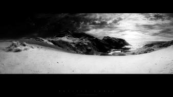 Sunset landscapes nature winter monochrome greg martin wallpaper