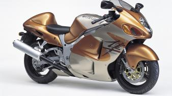 Suzuki Gsx1300r Gold wallpaper