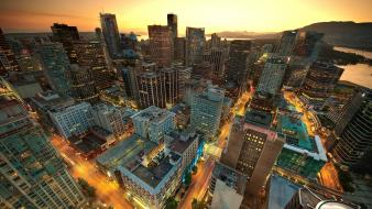 Vancouver Sunset Canada wallpaper
