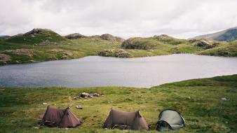Water nature outdoors lakes camping wallpaper