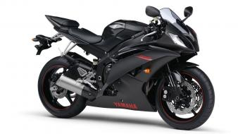 Yamaha R6 Black Hd wallpaper