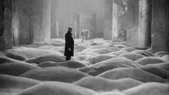 1979 andrei tarkovsky stalker (movie) grayscale wallpaper