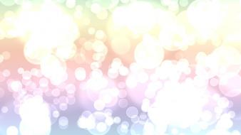 Abstract bokeh circles colors white wallpaper