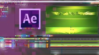 Adobe illustrator after effects colors photo manipulation wallpaper