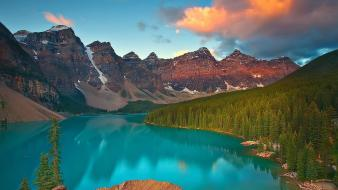 Alberta banff national park canada moraine lake wallpaper