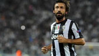 Andrea pirlo juventus fc football player wallpaper