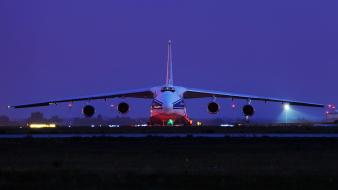 Antonov an-124 aircraft cargo aircrafts wallpaper