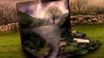 Artwork digital art nature notebook photo manipulation wallpaper