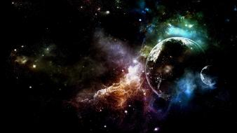 Artwork outer space science fiction wallpaper