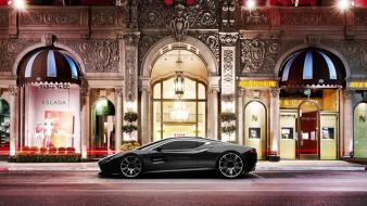 Aston martin dbc black cars design Wallpaper
