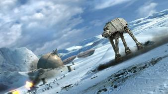 Atat hoth star wars battles wallpaper