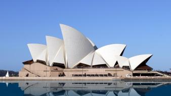 Australia architecture opera house wallpaper