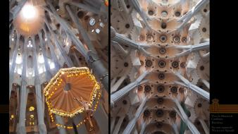 Barcelona catholic independence sagrada familia sanctuary wallpaper