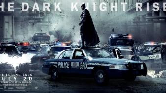 Batman the dark knight rises hollywood movies posters wallpaper