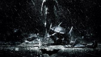 Batman the dark knight rises masks movies rain wallpaper