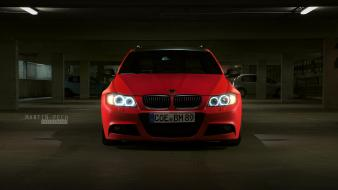 Bbm bmw e91 cars red static wallpaper