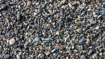 Beaches sand stones wallpaper