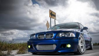 Bmw e46 m3 cars lowangle shot wallpaper