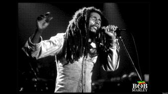 Bob marley jamaica black and white marijuana monochrome wallpaper
