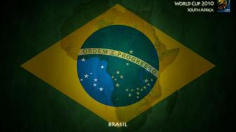 Brazil world cup flags Wallpaper