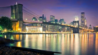 Brooklyn bridge new york city usa bridges carousel wallpaper