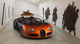 Bugatti veyron grand sport cars Wallpaper