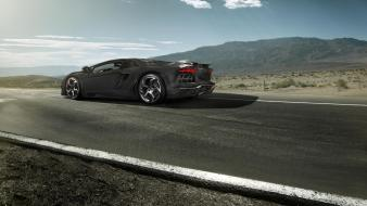 Carbonado lamborghini aventador mansory black cars wallpaper