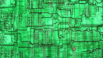 Circuit boards electronics wallpaper