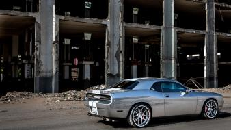 Dodge challenger srt muscle cars tunning wallpaper