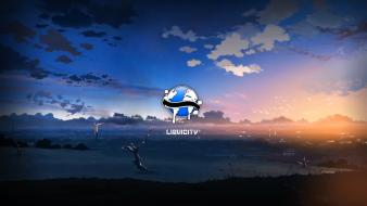 Drum and bass liquicity skies Wallpaper