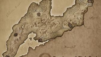 Elder scrolls daggerfall maps Wallpaper