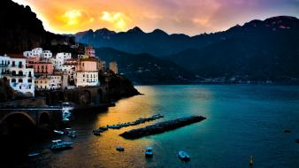 Europe hdr photography italy architecture boats wallpaper