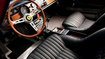 Ferrari 275 gtb cars interior Wallpaper