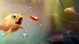 Fish water wallpaper