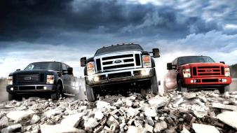 Ford f450 suv cars pickup wallpaper