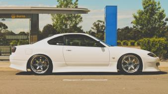 Greedy nissan silvia s15 white wallpaper