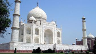 India taj mahal architecture wallpaper
