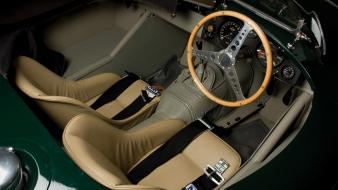 Jaguar c-type cars interior Wallpaper