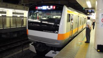 Japan tokyo station trains wallpaper