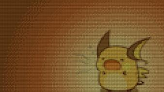 Legos pokemon raichu pixelated pixels wallpaper