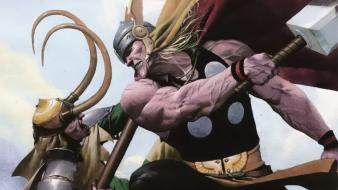 Loki marvel comics thor wallpaper