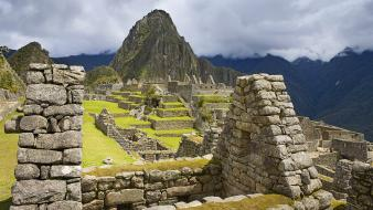 Machu picchu peru ancient inca majestic wallpaper